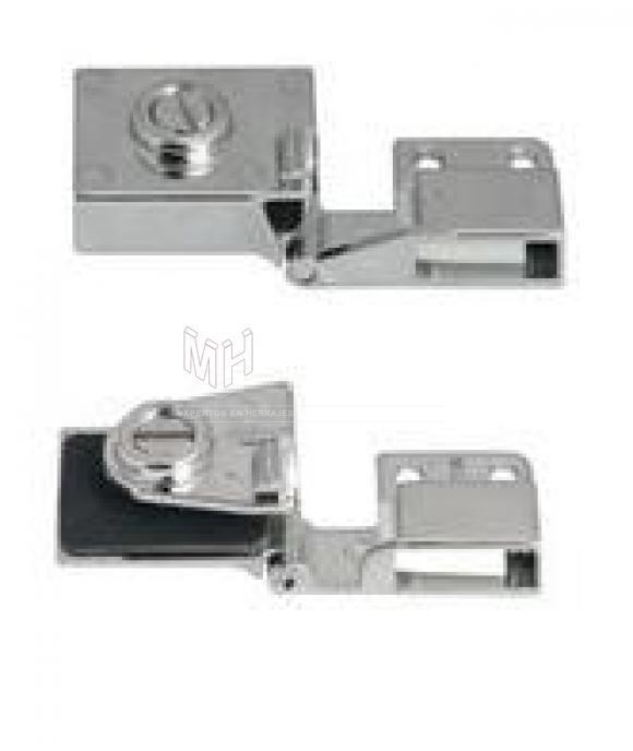 bisagra angular para puertas de cristal hafele marca